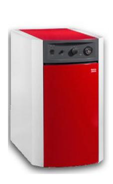 BAXI-ROCA modelo LIDIA 20 GT EM de pie de 20 Kw de baja temperatura solo calefacción caldera para gasóleo tiro natural