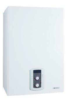 CHAFFOTEAUX-MAURY modelo NIAGARA C 30 FF  con acumulador integrado de 40 l.con nuevo Eco Delta System y display LCD de 29,5 KW con placa de conexiones y kit salida de humos. caldera para gas propano mural estanca mixta