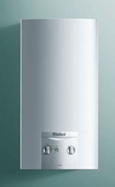 VAILLANT modelo Turbomag ES 14-2/0 E con kit de evacuación. calentador gas natural estanco